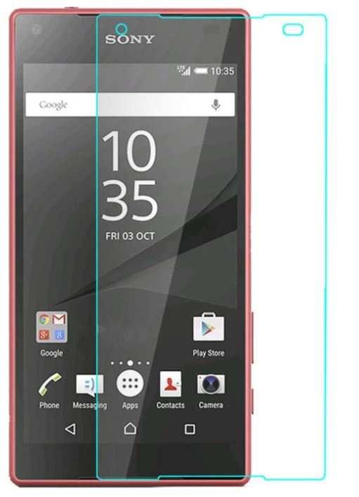 Sony xperia Z5mini kırılmaz ekran koruyucu cam