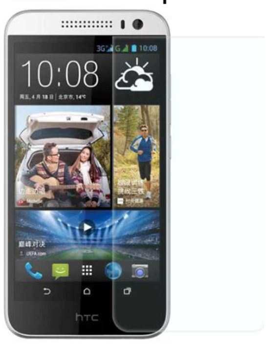 HTC Desire 616 kırılmaz ekran koruyucu cam
